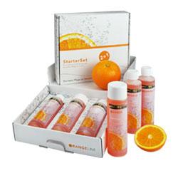 Wasserbett-Pflegeserie OrangeLine