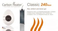 T.B.D. Carbon Heater - Classik 240Watt
